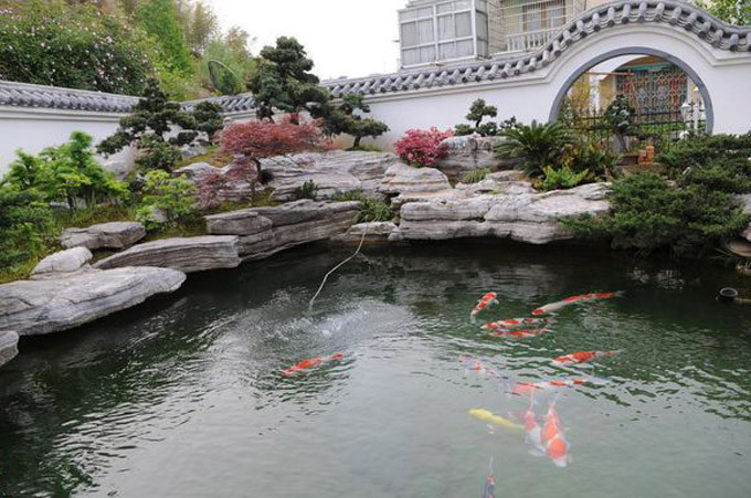 鱼池过滤器_锦鲤鱼池过滤系统
